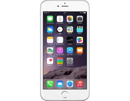 Смартфон Apple iPhone 6 Plus 64Gb Silver (как новый) (iOS/A8 1400MHz/5.5