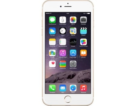 Смартфон Apple iPhone 6 Plus 64Gb Gold (как новый) (iOS/A8 1400MHz/5.5