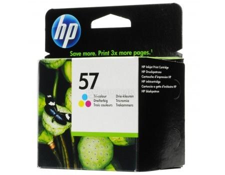 Картридж струйный HP 57 C6657AE для HP DJ5550/450/PS 100/130/230/7150/7350/7550 Многоцветный C6657AE (500стр.)