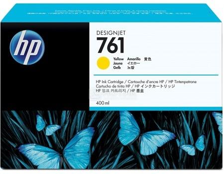 Картридж струйный HP 761 CM992A для HP DJ T7100 Желтый CM992A