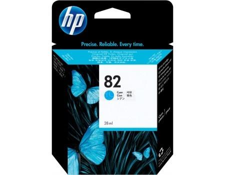 Картридж струйный HP 82 C4911A для HP DJ 500/800 Голубой C4911A (69мл)