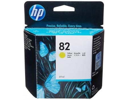 Картридж струйный HP 82 C4913A для HP DJ 500/800 Желтый C4913A (69мл)