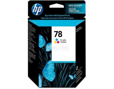 Картридж струйный HP 78 C6578D для HP DJ 9xxC/DJ3820/6122/6127/PS1xxx Многоцветный C6578D