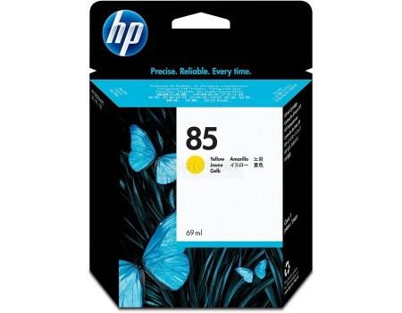Картридж струйный HP 85 C9427A для HP DJ 30/90/130 Желтый C9427A (69мл)