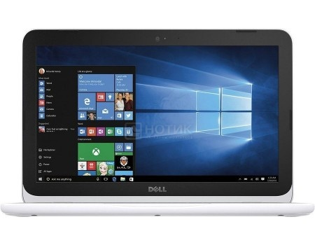 Ноутбук Dell Inspiron 3162 (11.6 LED/ Celeron Dual Core N3060 1600MHz/ 2048Mb/ SSD 32Gb/ Intel HD Graphics 400 64Mb) MS Windows 10 Home (64-bit) [3162-3041]