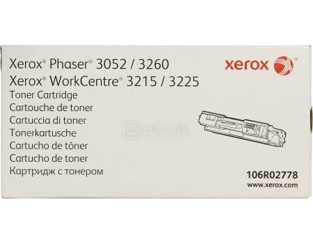 Тонер-картридж Xerox 106R02778 для Phaser 3052/3260 WC 3215/25, 3000стр, Черный