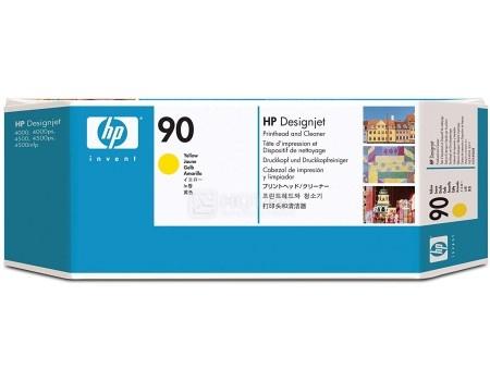Картридж струйный (печатающая головка) HP 90 C5057A для HP DJ 4000/4000ps/4500/4500ps Желтый C5057A