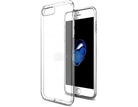 Чехол на заднюю крышку TFN 0,5 мм для Apple iPhone 7, Силикон, Прозрачный CC-07-003TPUTC
