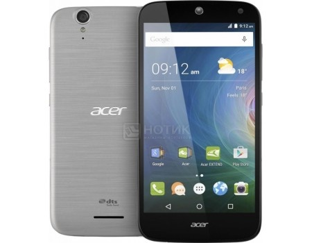 "Смартфон Acer Liquid Z630S Black (Android 5.1/MT6753 1300MHz/5.5"" 1280x720/3072Mb/32Gb/4G LTE  ) [HM.HSYEU.002] от Нотик"