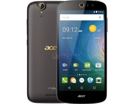 Смартфон Acer Liquid Z630S Black Gold (Android 5.1/MT6753 1300MHz/5.5 (1280x720)/3072Mb/32Gb/4G LTE 3G (EDGE, HSDPA, HSPA+)) [HM.HT6EU.002]