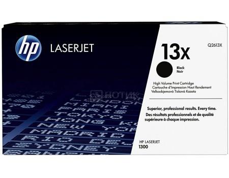 Тонер-картридж HP 13X Q2613X для HP LJ 1300/1300N, Черный Q2613X 4000стр