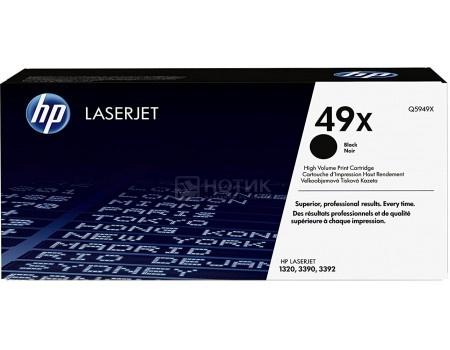 Тонер-картридж HP 49X Q5949X для HP LJ 1320, Черный Q5949X 6000стр
