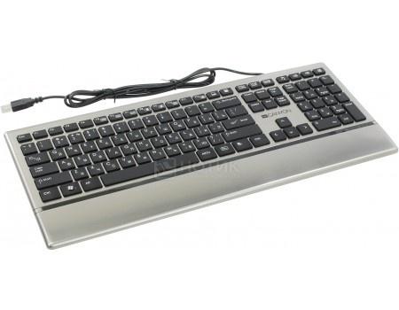 Клавиатура проводная Canyon CNS-HKB4, Серебристый 7UCNSHKB4RU