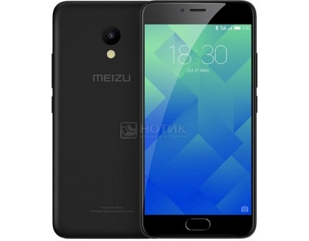 Смартфон Meizu M5 32Gb Black (Android 6.0 (Marshmallow)/MT6750 1500MHz/5.2
