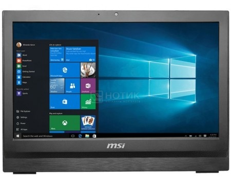 Моноблок AIO MSI Pro 20 6M-028RU (20.0 TN (LED)/ Core i3 6100 3700MHz/ 4096Mb/ HDD 1000Gb/ Intel HD Graphics 530 64Mb) Free DOS [9S6-AA7811-028]