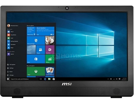 Моноблок MSI Pro 24 4BW-016RU (23.6 TN (LED)/ Celeron Quad Core N3160 1600MHz/ 4096Mb/ HDD 1000Gb/ Intel HD Graphics 400 64Mb) Free DOS [9S6-AE9211-016]