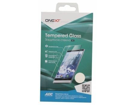 Защитное стекло ONEXT для Samsung Galaxy A3 2017, с рамкой, Черный 41231