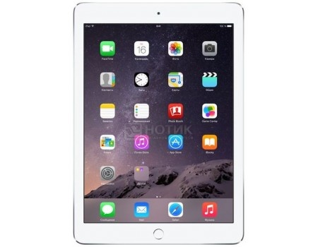 Планшет Apple iPad Air 2 32Gb Wi-Fi Silver (iOS 10/A8X 1500MHz/9.7