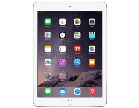 Планшет Apple iPad Air 2 32Gb Wi-Fi Gold (iOS 10/A8X 1500MHz/9.7