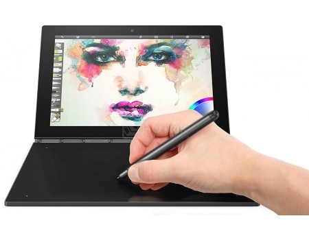 Планшет Lenovo Yoga Book YB1-X91F 64Gb (MS Windows 10 Professional (64-bit)/Z8550 1440MHz/10.1
