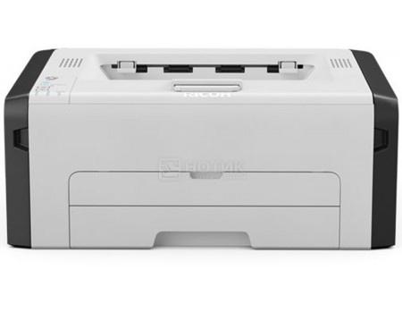 Принтер лазерный монохромный Ricoh SP 220Nw, A4, 23 стр/мин, 128Мб, USB, Wi-Fi, NFC, LAN  Белый/Черный 408028