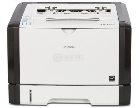 Принтер лазерный монохромный Ricoh SP 325DNw, A4, 28 стр/мин, Дуплекс, 128Мб, USB, Wi-Fi, NFC, LAN  Белый/Черный 407978