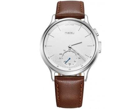 Смарт-часы Meizu Mix R20 Leather Silver, 270 мАч Серебристый MZU-MZWA1S-L-SL