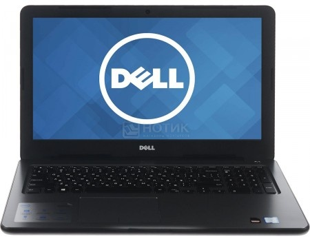 Ноутбук Dell Inspiron 5567 (15.6 LED/ Core i5 7200U 2500MHz/ 8192Mb/ HDD 1000Gb/ AMD Radeon R7 M445 4096Mb) MS Windows 10 Home (64-bit) [5567-3256]