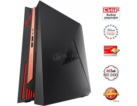 Системный блок ASUS ROG GR8 II-T031Z (0.0 / Core i7 7700 3600MHz/ 16384Mb/ HDD+SSD 1000Gb/ NVIDIA GeForce® GTX 1060 3072Mb) MS Windows 10 Home (64-bit) [90MS00X1-M00310]