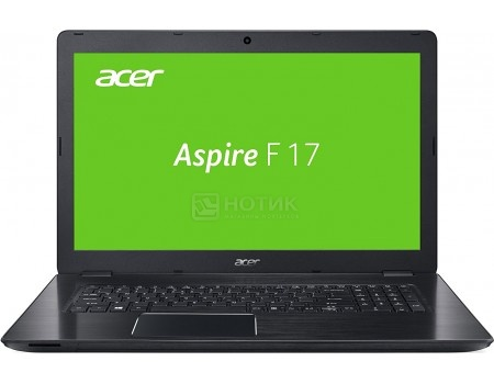 Ноутбук Acer Aspire F5-771G-54NA (17.3 LED/ Core i5 7200U 2500MHz/ 16384Mb/ HDD+SSD 1000Gb/ NVIDIA GeForce® GTX 950M 4096Mb) MS Windows 10 Home (64-bit) [NX.GENER.011]