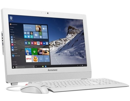 Моноблок Lenovo S200z (19.5 LED/ Pentium Quad Core J3710 1600MHz/ 4096Mb/ HDD 500Gb/ Intel HD Graphics 405 64Mb) Free DOS [10K50024RU]