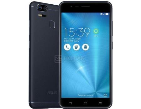 Смартфон Asus Zenfone 3 Zoom ZE553KL 64Gb Navy Black (Android 6.0 (Marshmallow)/MSM8953 2000MHz/5.5