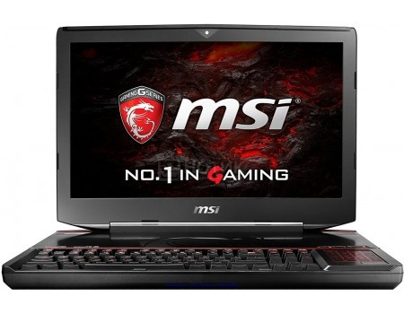 Ноутбук MSI GT83VR 7RF-222RU Titan SLI (18.4 LED (с широкими углами обзора IPS - level)/ Core i7 7920HQ 3100MHz/ 65536Mb/ HDD+SSD 1000Gb/ NVIDIA GeForce® GTX 1080x2 SLI 8192Mb) MS Windows 10 Home (64-bit) [9S7-181542-222]