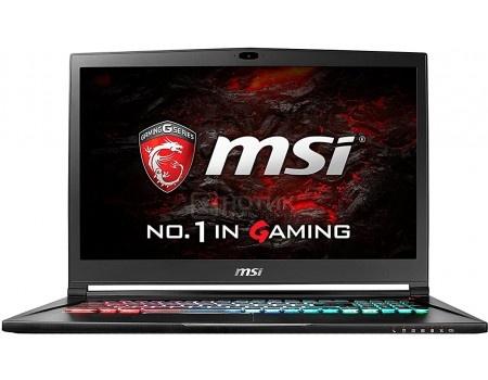 Ноутбук MSI GS73VR 7RG-014RU Stealth Pro 4K (17.3 LED (IPS - level)/ Core i7 7700HQ 2800MHz/ 32768Mb/ HDD+SSD 2000Gb/ NVIDIA GeForce® GTX 1070 в дизайне MAX-Q 8192Mb) MS Windows 10 Home (64-bit) [9S7-17B312-014]
