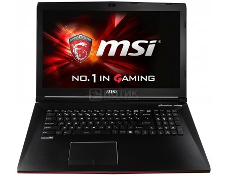 Ноутбук MSI GL72 7QF-1045RU (17.3 LED/ Core i5 7300HQ 2500MHz/ 8192Mb/ HDD+SSD 1000Gb/ NVIDIA GeForce® GTX 960M 2048Mb) MS Windows 10 Home (64-bit) [9S7-179586-1045]