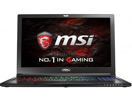 Ноутбук MSI GS63VR 7RF-409RU Stealth Pro 4K (15.6 LED (с широкими углами обзора IPS - level)/ Core i7 7700HQ 2800MHz/ 16384Mb/ HDD+SSD 2000Gb/ NVIDIA GeForce® GTX 1060 6144Mb) MS Windows 10 Home (64-bit) [9S7-16K212-409]