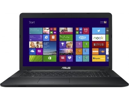 Ноутбук ASUS X751LB-TY139T (17.3 LED/ Core i5 5200U 2200MHz/ 4096Mb/ HDD 1000Gb/ NVIDIA GeForce GT 940M 2048Mb) MS Windows 10 Home (64-bit) [90NB08F1-M04440]