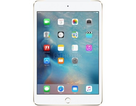 Планшет Apple iPad Mini 4 32Gb Wi-Fi + Cellular Gold (iOS 10/A8 1500MHz/7.9