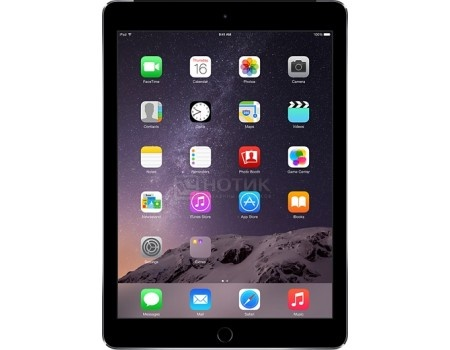 Планшет Apple iPad Air 2 32Gb Wi-Fi Space Grey (iOS 10/A8X 1500MHz/9.7