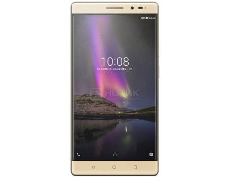 Планшет Lenovo Phab 2 Plus PB2-670M Gold (Android 6.0 (Marshmallow)/МТ8783 1300MHz/6.4