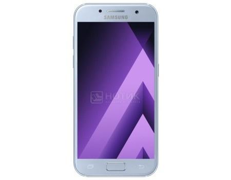 Смартфон Samsung Galaxy A3 2017 SM-A320F Blue (Android 6.0 (Marshmallow)/7870 1600MHz/4.7* 1280x720/2048Mb/16Gb/4G LTE ) [SM-A320FZBDSER], арт: 50591 - Samsung