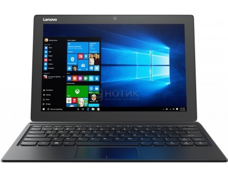 Планшет Lenovo IdeaPad Miix 510-12 (MS Windows 10 Professional (64-bit)/i5-6200U 2300MHz/12.2 (1920x1080)/8192Mb/256Gb/4G LTE 3G (EDGE, HSDPA, HSPA+)) [80U1009DRK]