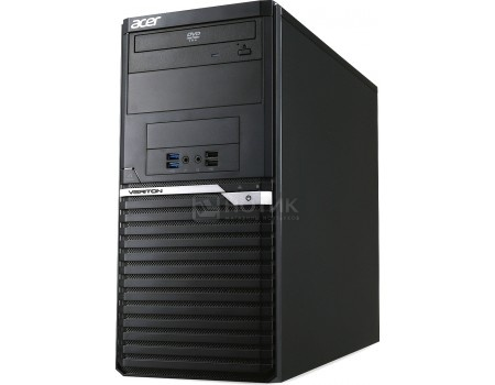 Системный блок Acer Veriton M4640G (0.0 / Core i7 6700 3400MHz/ 8192Mb/ HDD 1000Gb/ Intel HD Graphics 530 64Mb) MS Windows 10 Professional (64-bit) [DT.VN0ER.127]