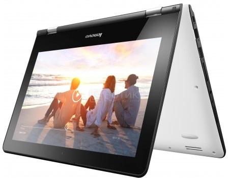 Ультрабук Lenovo Yoga 300-11 (11.6 IPS (LED)/ Celeron Dual Core N3060 1600MHz/ 2048Mb/ SSD 32Gb/ Intel HD Graphics 400 64Mb) MS Windows 10 Home (64-bit) [80M100R1RK]