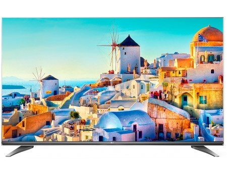 Телевизор LG 43 43UH750V IPS, UHD, Smart TV (webOS 3.0), PMI 1900, Титан (Черный)