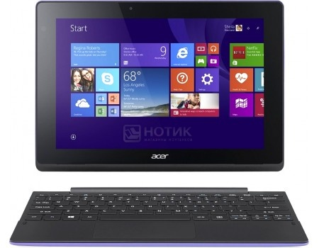 Планшет Acer Aspire Switch 10 E (MS Windows 10 Home (64-bit)/Z8300 1440MHz/10.1