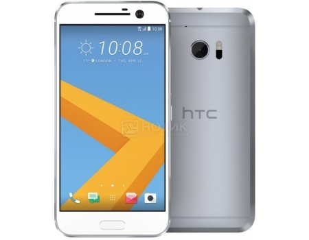 Смартфон HTC 10 Lifestyle Glacier Silver (Android 6.0 (Marshmallow)/MSM8976 1800MHz/5.2