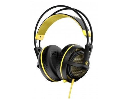 Гарнитура проводная Steelseries Siberia 200 Proton Yellow, Желтый/черный 1.8м 51138