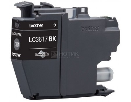 Фотография товара картридж Brother LC3617BK для MFCJ3530,3930 , Черный LC-3617BK 550стр (50735)