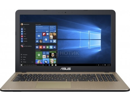 Ноутбук ASUS R540SA-XX052T (15.6 LED/ Celeron Dual Core N3050 1600MHz/ 4096Mb/ HDD 500Gb/ Intel HD Graphics 64Mb) MS Windows 10 Home (64-bit) [90NB0B31-M07280]